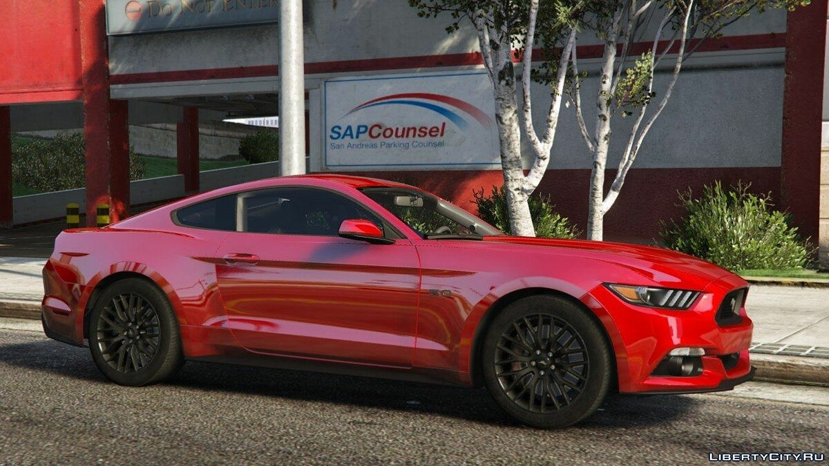 2015 Ford Mustang GT [Add-On] для GTA 5 - скриншот #3