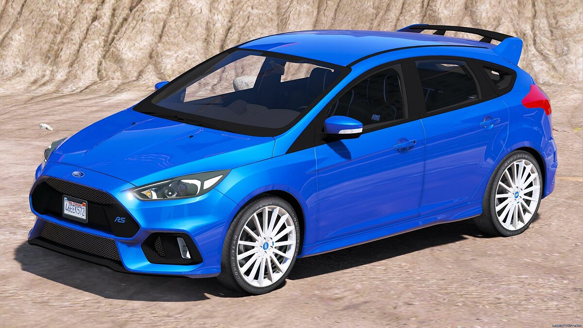 2016/2017 Ford Focus RS 1.0 для GTA 5 - скриншот #2