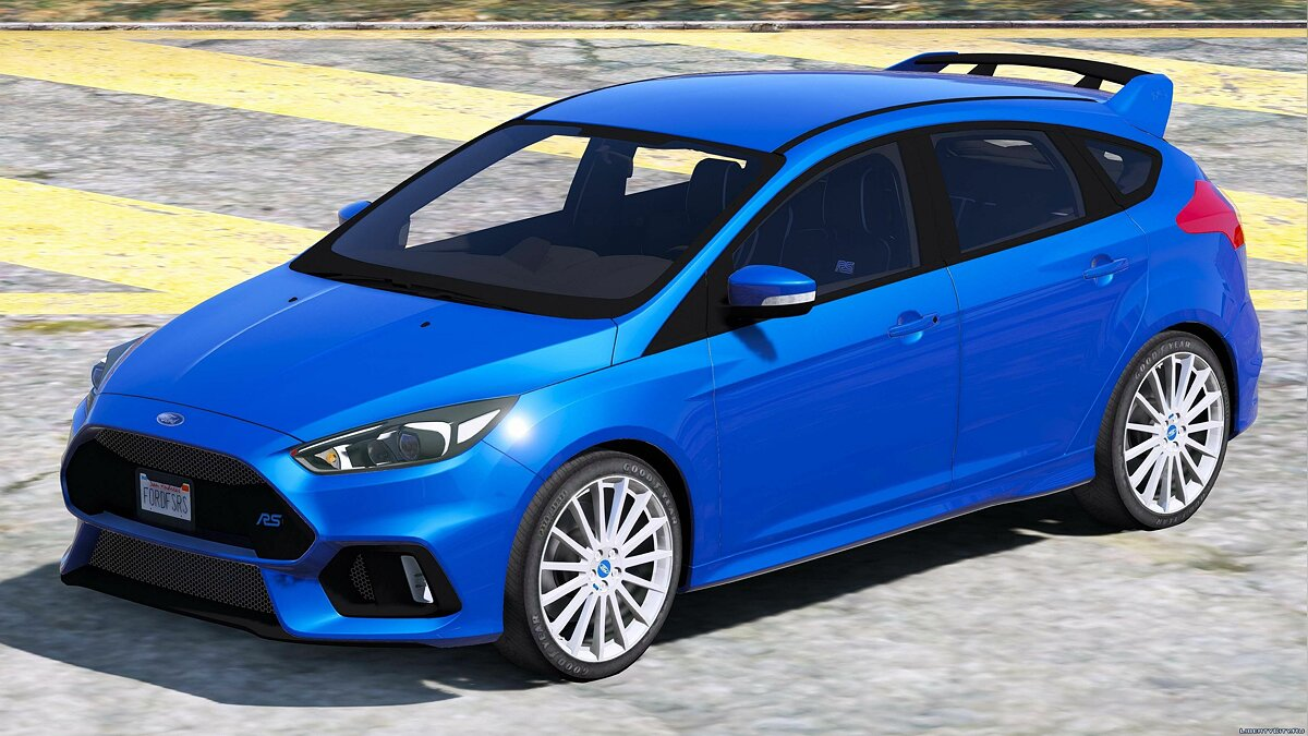 2016/2017 Ford Focus RS 1.0 для GTA 5