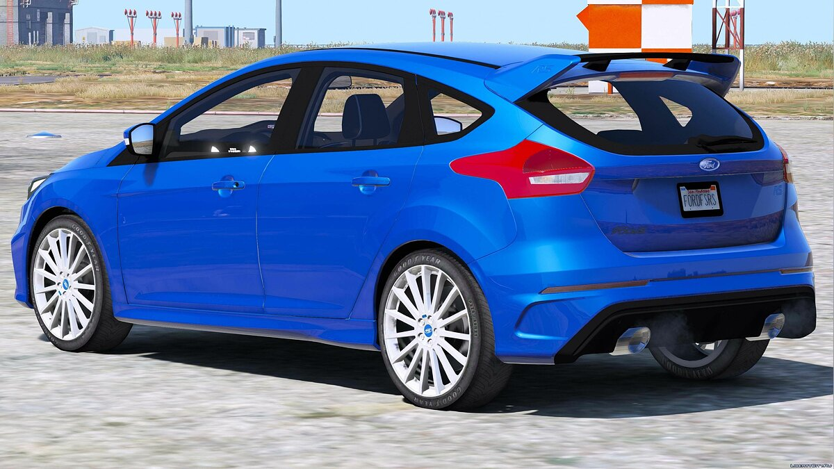 2016/2017 Ford Focus RS 1.0 для GTA 5 - скриншот #9