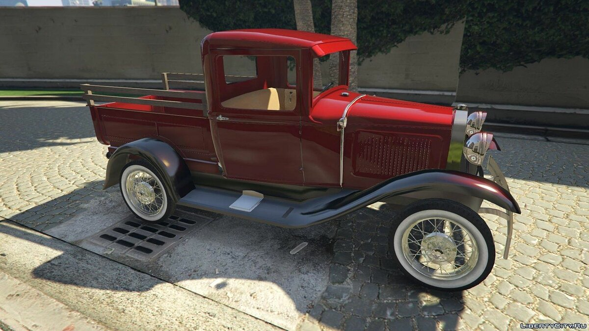 Ford A Pick-up 1930 для GTA 5 - скриншот #2