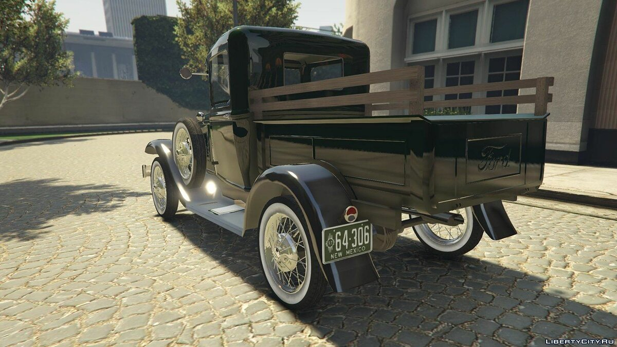 Ford A Pick-up 1930 для GTA 5 - скриншот #3