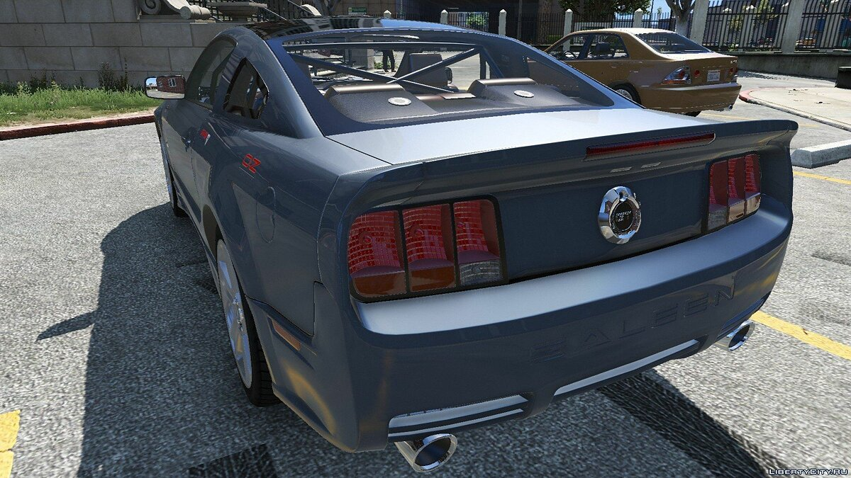 Машина Ford 2005 Ford Mustang GT 1.0 для GTA 5