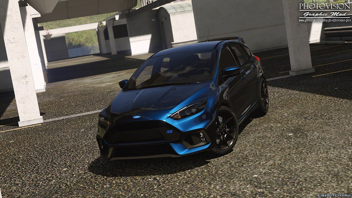 Ford Focus RS 2017 [Add-On / Replace | Tuning | Template | Multi-Livery] для GTA 5 - скриншот #3
