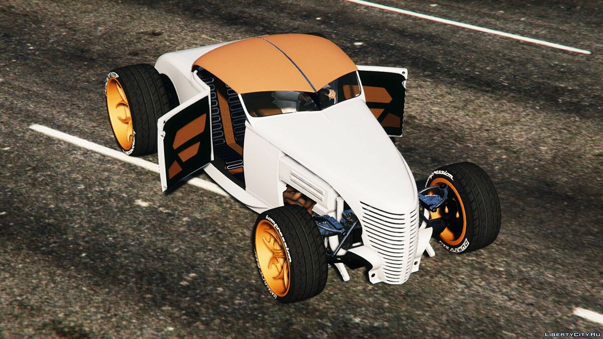 Машина Ford Ford Model A 1930 Roadster Durty 2016 GTA5 by OLDER And WISER (Add-On OIV | Replace) 1 для GTA 5