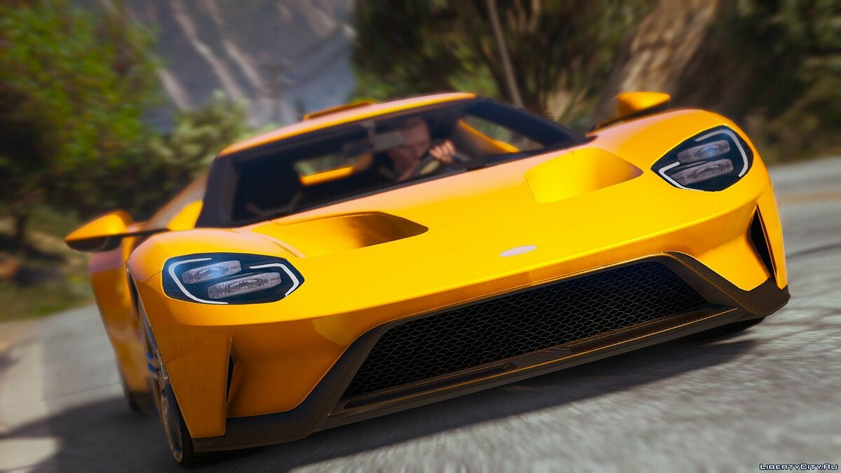 ��ашина Ford Ford GT 2017 [Automatic Spoiler | Tuning | Add-on] для GTA 5