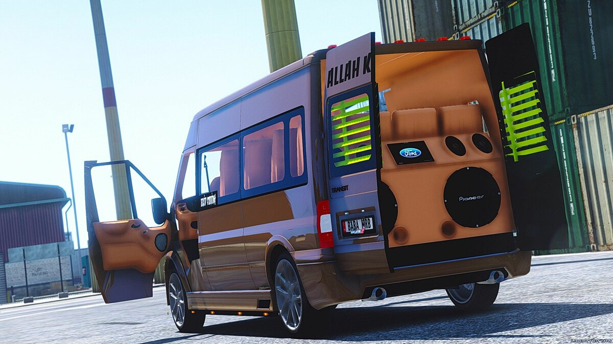 Ford Transit [Replace] 1.0 для GTA 5 - скриншот #5