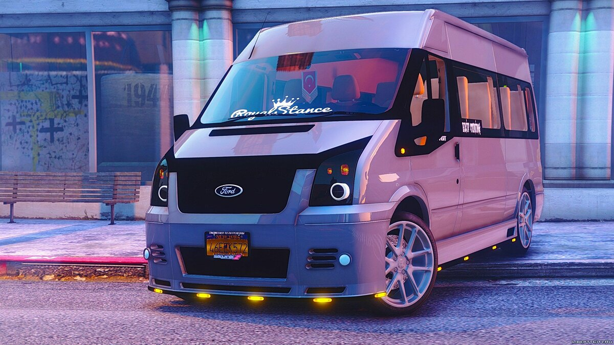 Ford Transit [Replace] 1.0 для GTA 5