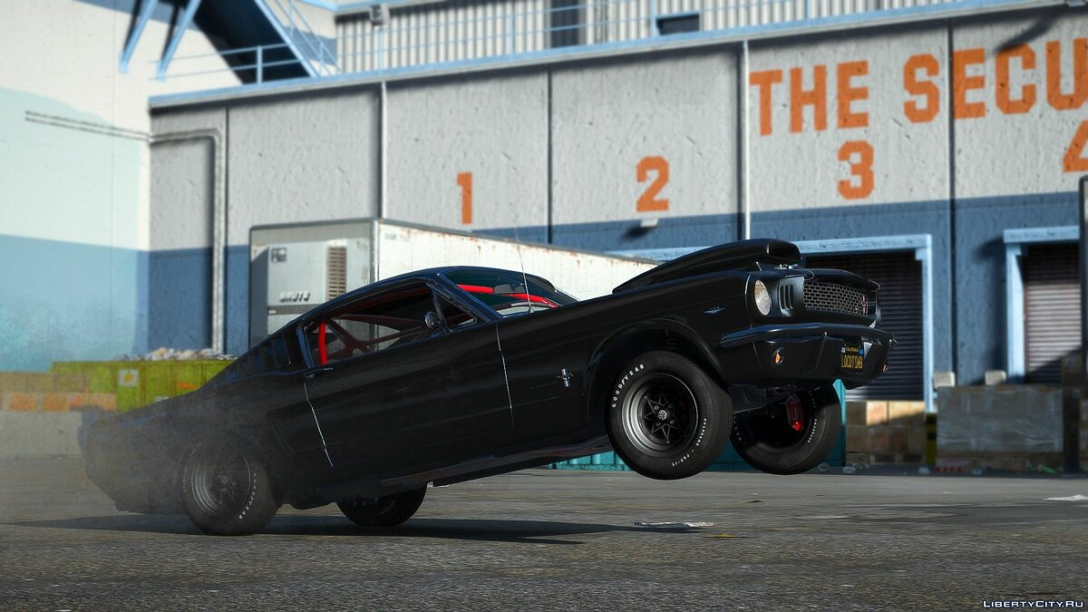 Машина Ford 1966 Ford Mustang Fastback 2+2 [Template][Owners_Manual] Final для GTA 5