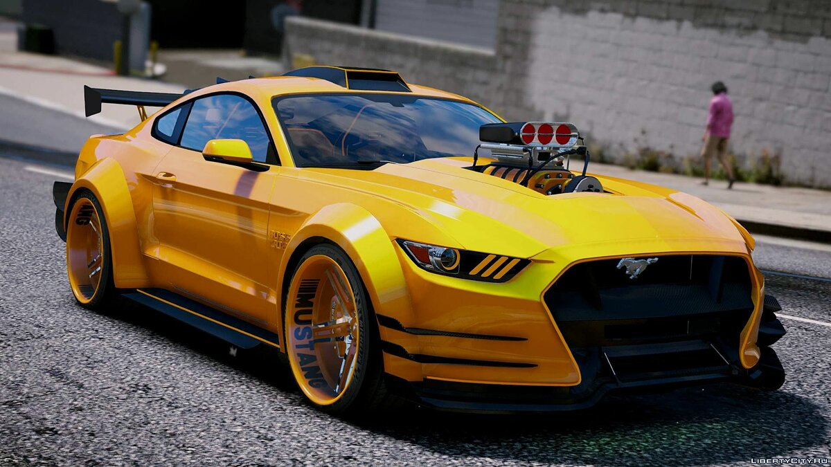 Ford Mustang GT [Add-On | Tuning] 1.1 для GTA 5 - Картинка #1
