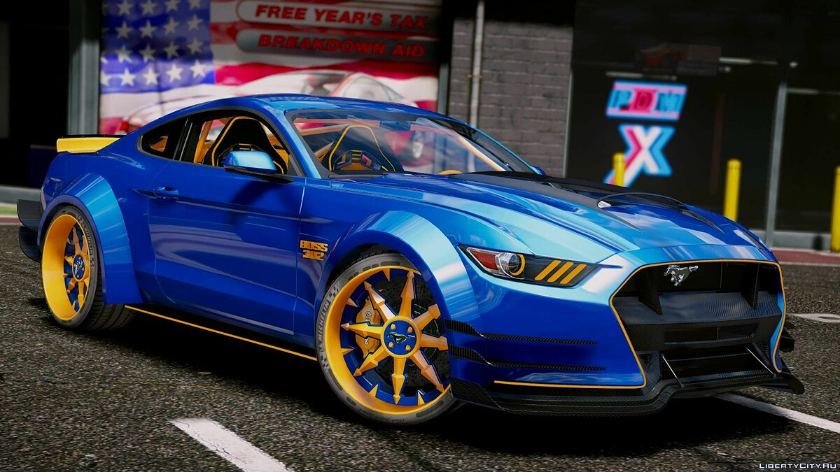 Ford Mustang GT [Add-On | Tuning] 1.1 для GTA 5 - Картинка #11