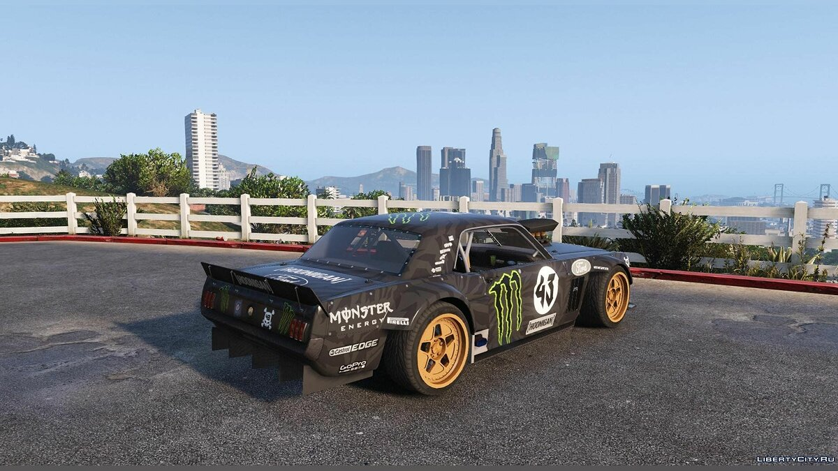 Ford Mustang 1965 Hoonicorn [Add-On / Replace] 1.2 для GTA 5 - скриншот #2