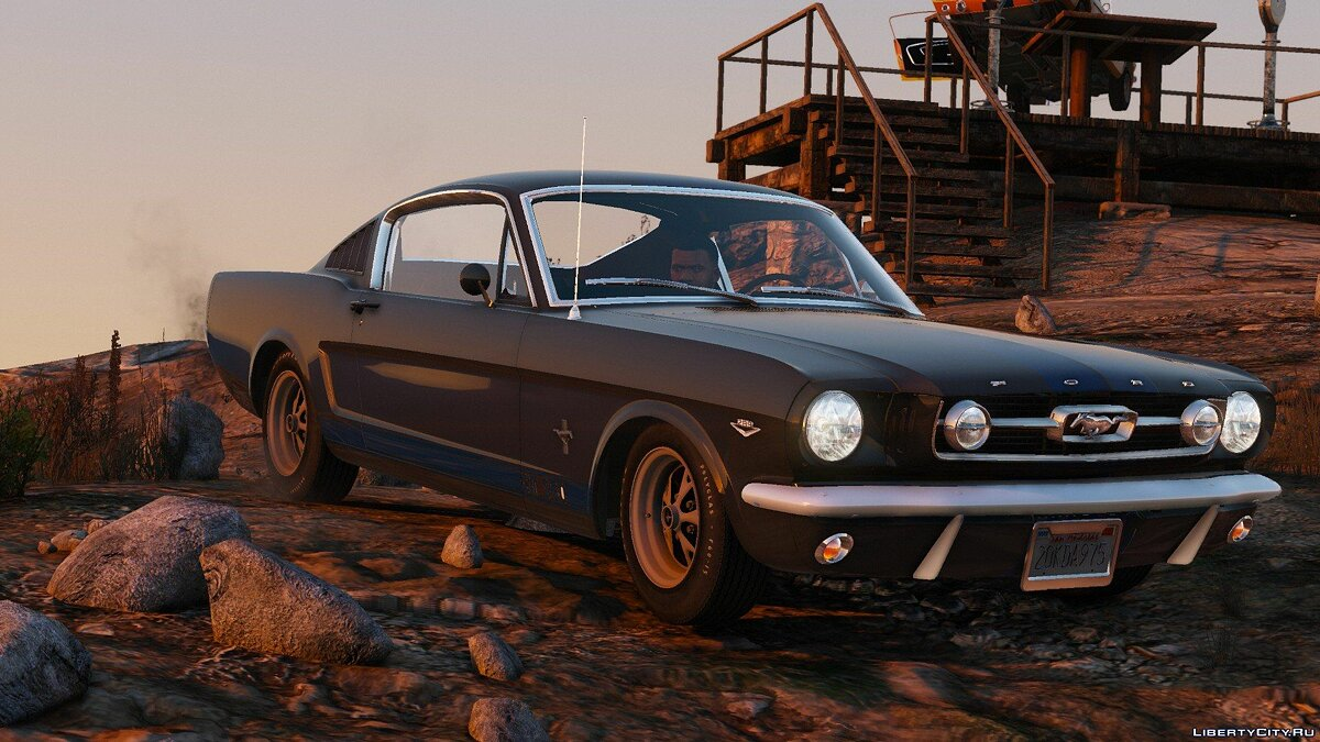 Ford Mustang Fastback [Add-On] для GTA 5 - скриншот #2