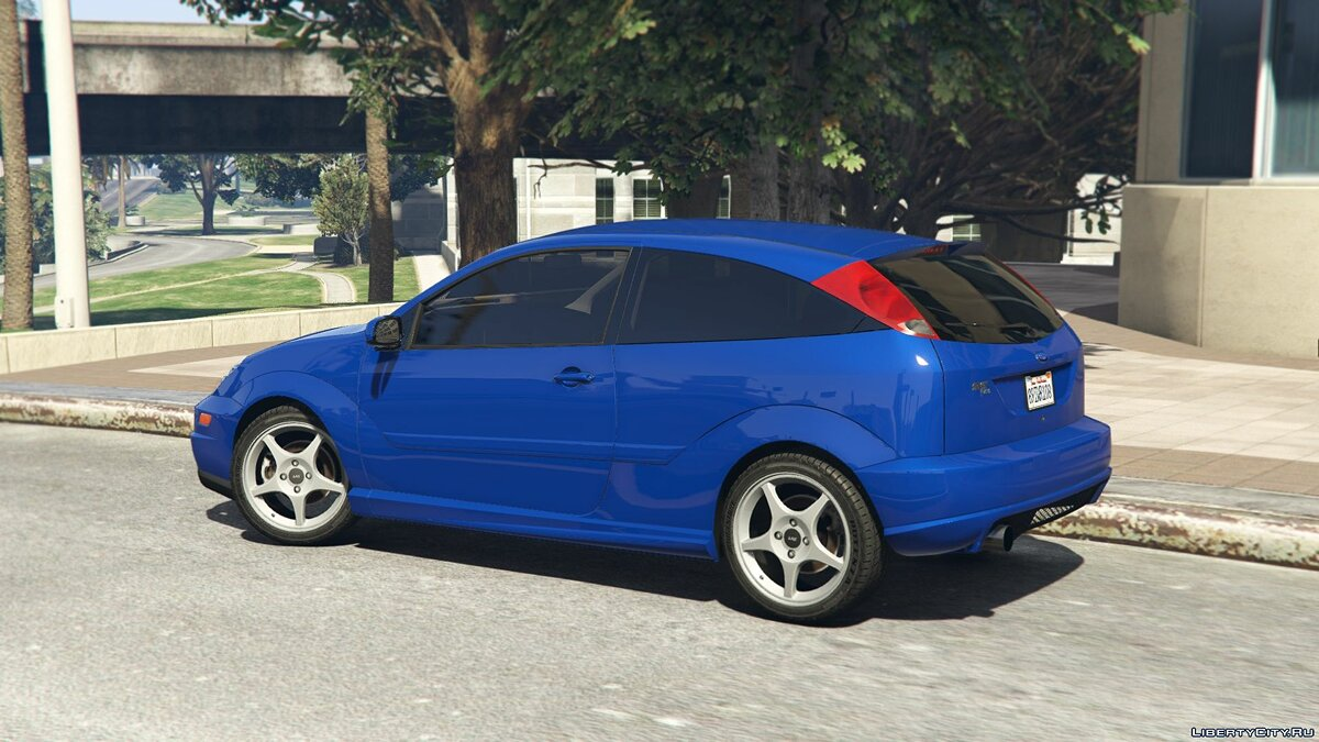 Машина Ford Ford Focus SVT [Add-On/Replace] 1.0 для GTA 5