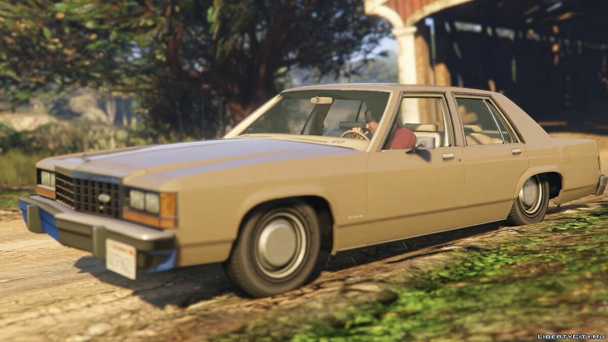 1987 Ford Crown Victoria LTD [Handling, sound, livery] для GTA 5