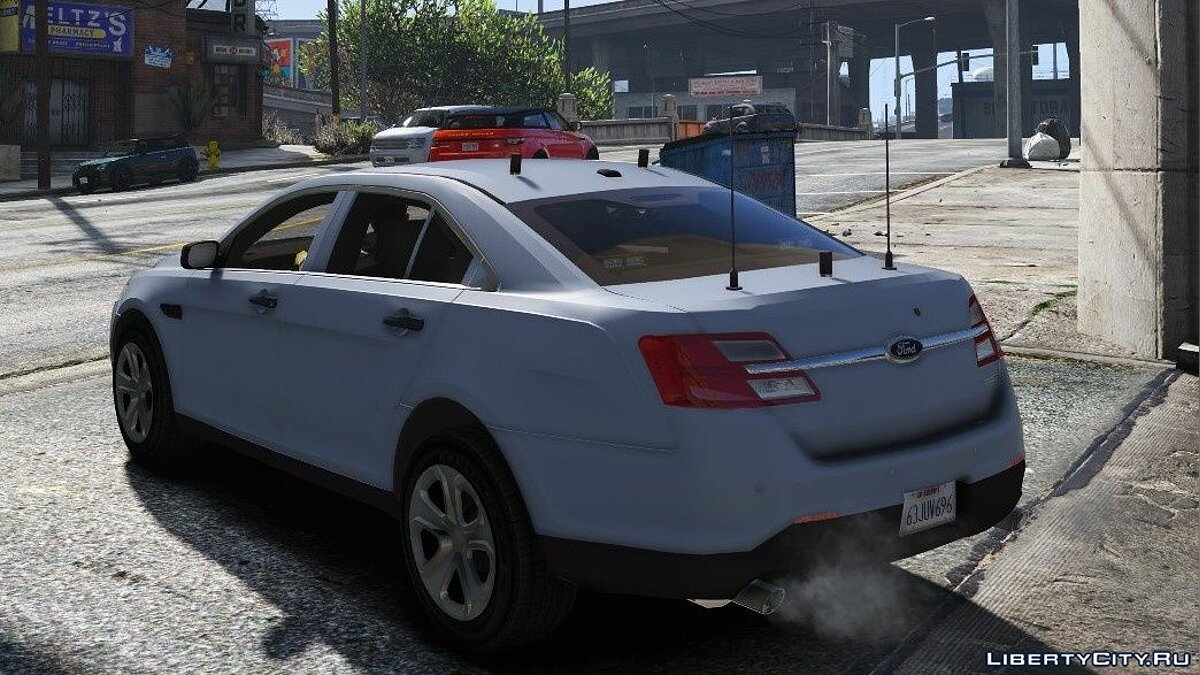 Машина Ford Taurus Reporter (Shot in the dark) 1.0 для GTA 5