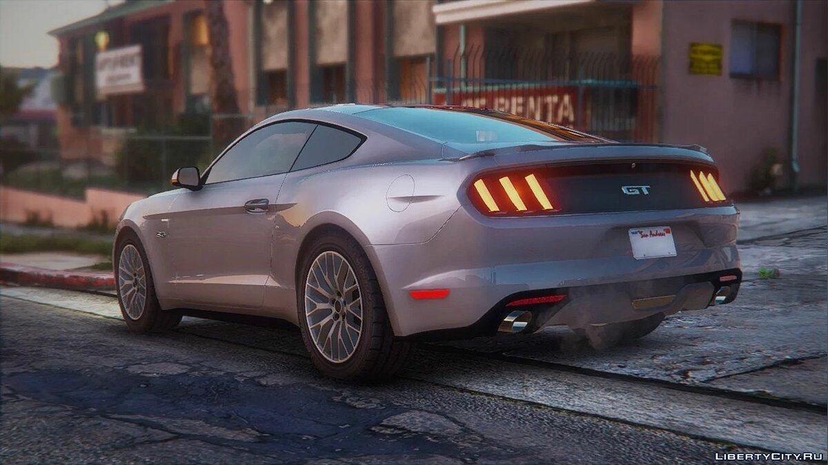 Машина Ford Ford Mustang 2015 MkVI (S550) [Replace] 1.2 для GTA 5