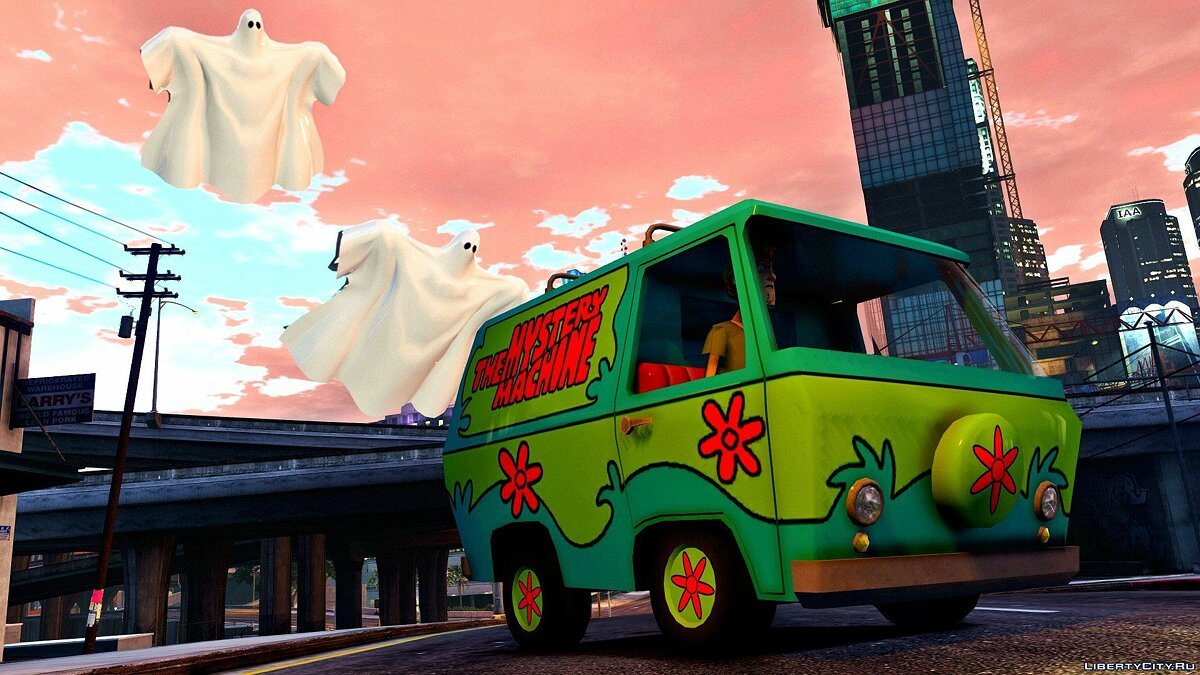 The Mistery Machine [ADDON-REPLACE] 1.0 для GTA 5