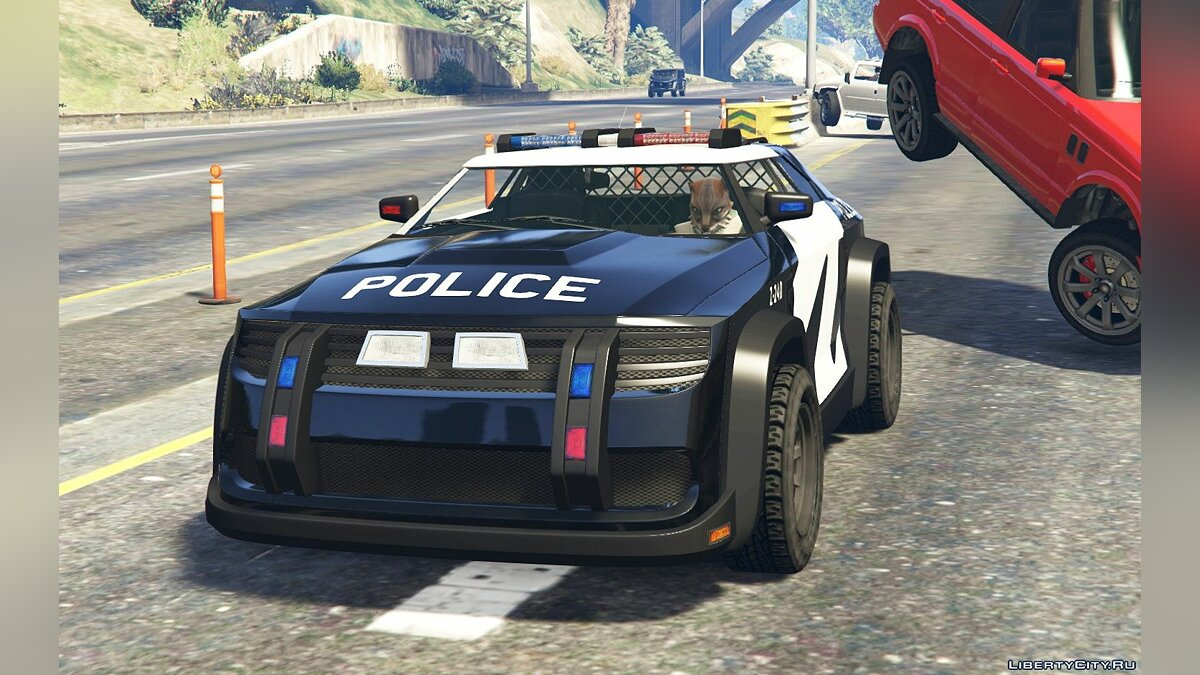 ��рикольная машина Zootopia ZPD Cruiser [Add-On | Livery] 1.0 для GTA 5