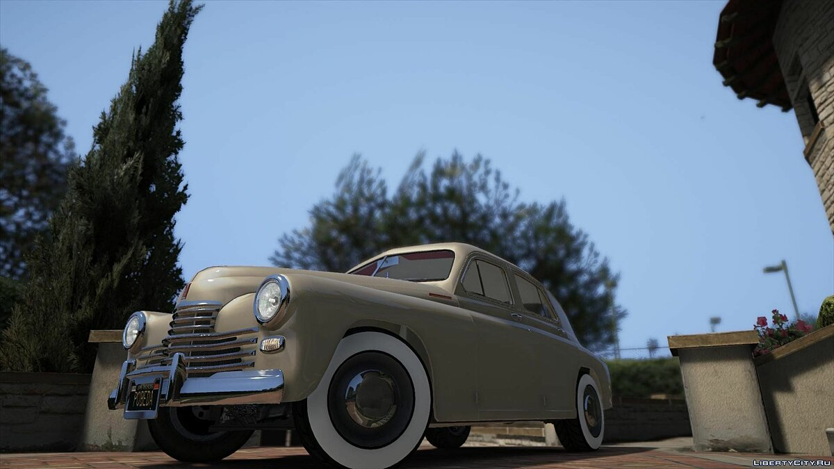 Машина ГАЗ GAZ M-20 POBEDA BY AKROM Add-On 1.0 для GTA 5