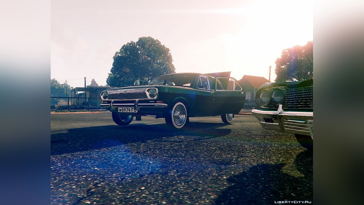 GAZ-24 [Add-On] для GTA 5