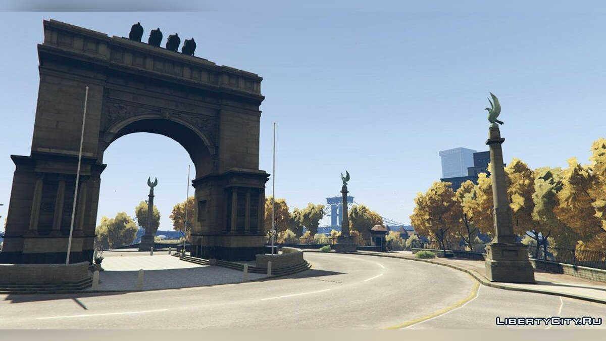 Большой мод Grand Theft Auto V: Liberty City [ALPHA] v0.1 для GTA 5