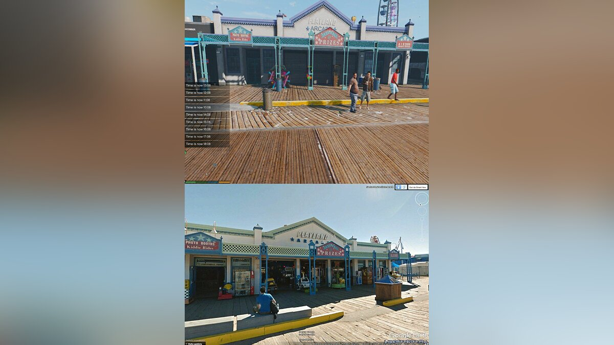 ��ольшой мод L.A. Real Santa Monica & Venice Beach 1.0 для GTA 5