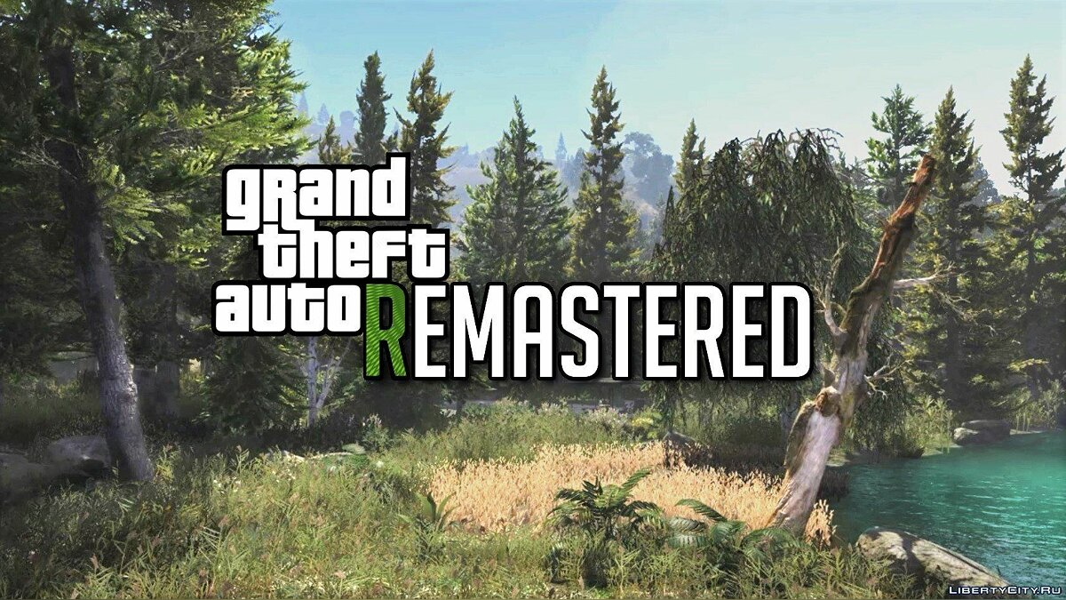 Большой мод Grand Theft Auto V Remastered [Add-On] 1.1 для GTA 5