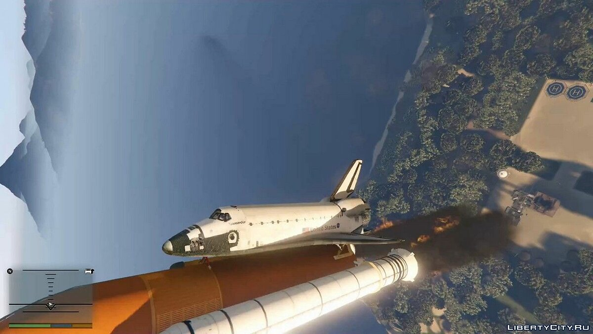 ��ольшой мод Grand Theft Space [.NET] 1.0 для GTA 5
