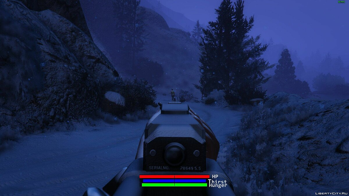 ��ольшой мод A Long Winter 0.4c [ALPHA] для GTA 5