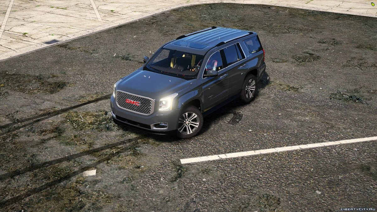 Машина GMC GMC Yukon Denali 2018 [Replace] 0.1 для GTA 5