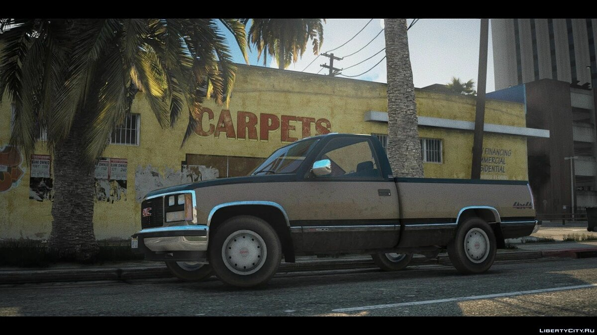Машина GMC 1988 GMC Sierra 1500 [Add-On | LODs | Extras] 1.0 для GTA 5