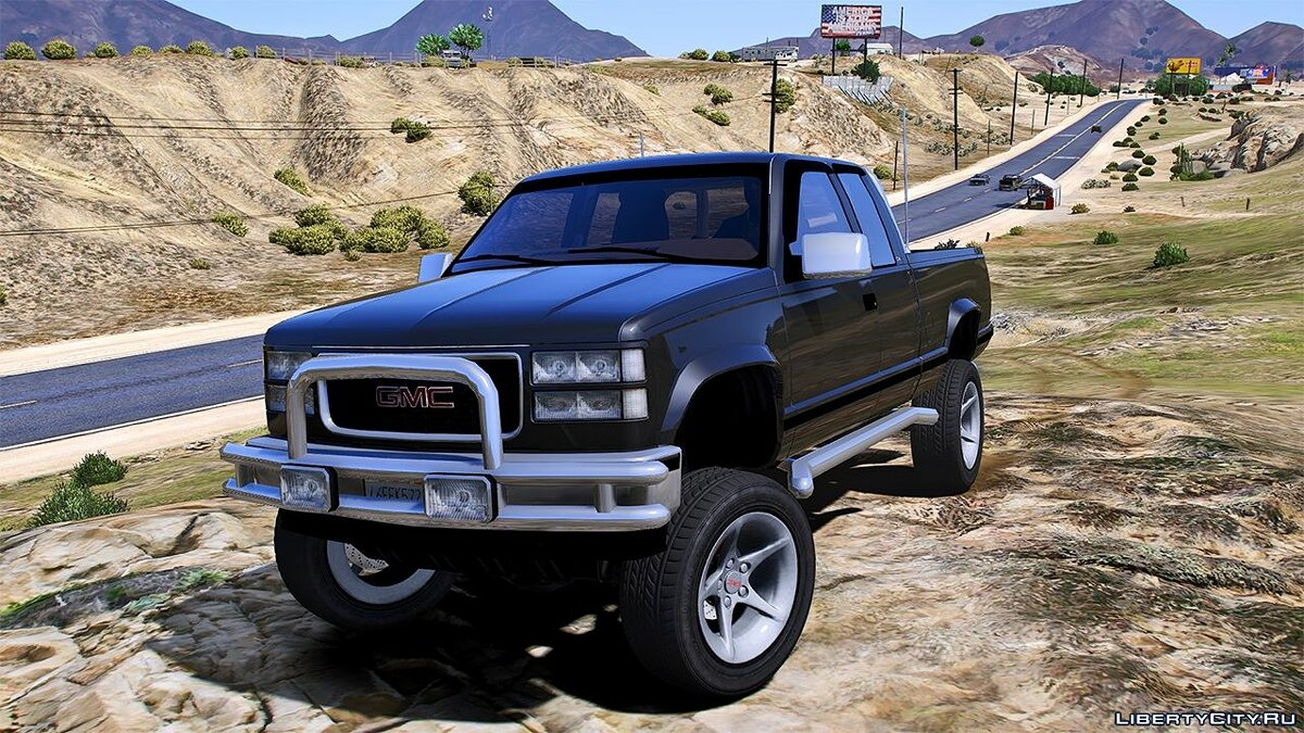 Машина GMC 1997 GMC Sierra 1500 Custom [Add-On | Extras | Unlocked] 0.1 для GTA 5