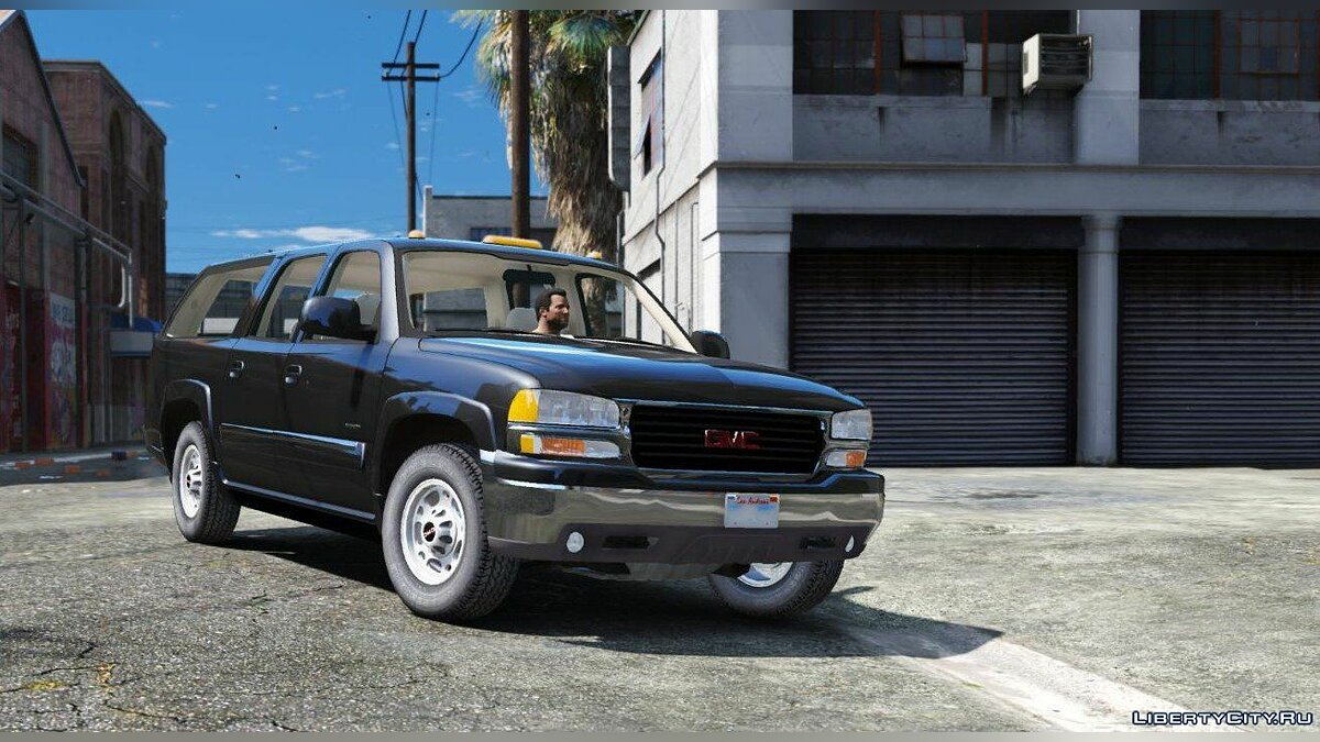 Машина GMC GMC Yukon XL 2003 [Add-On / Replace | Extras] 1.0 для GTA 5