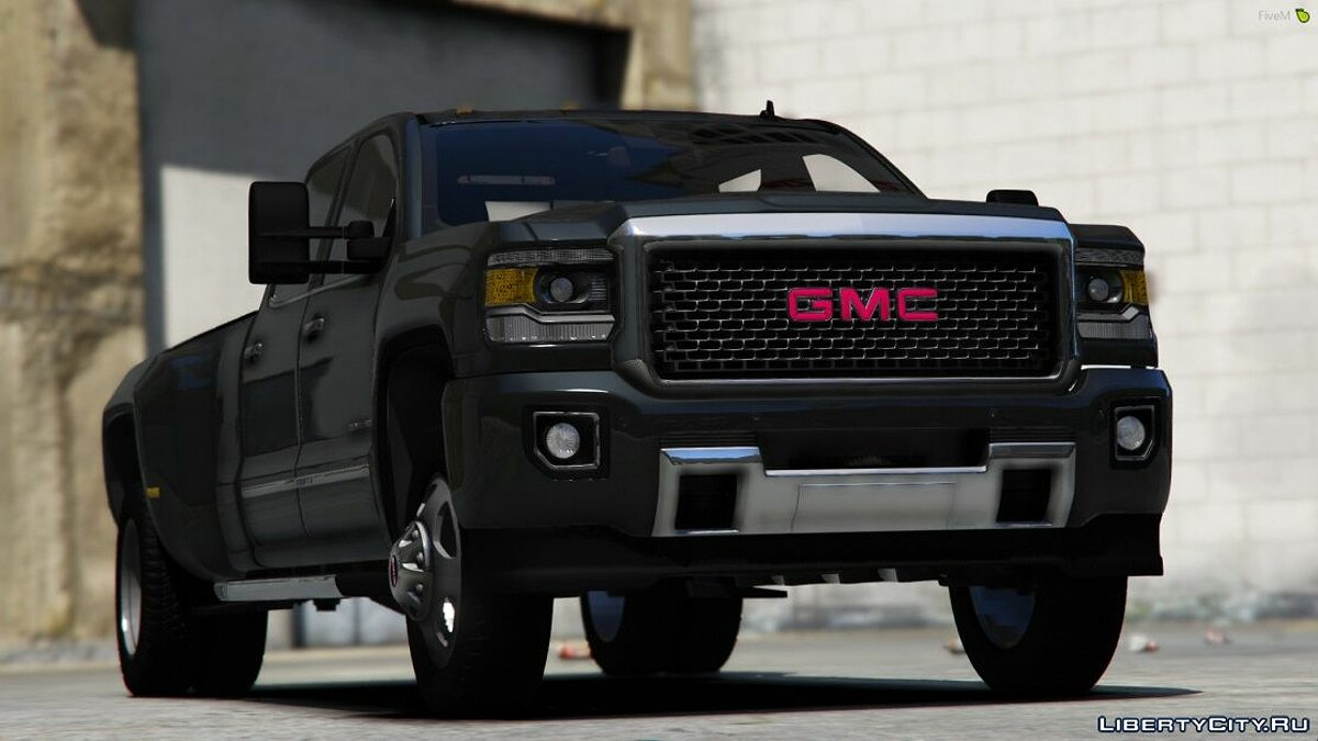 Машина GMC 2018 GMC Sierra Denali 3500D [Add-On] для GTA 5