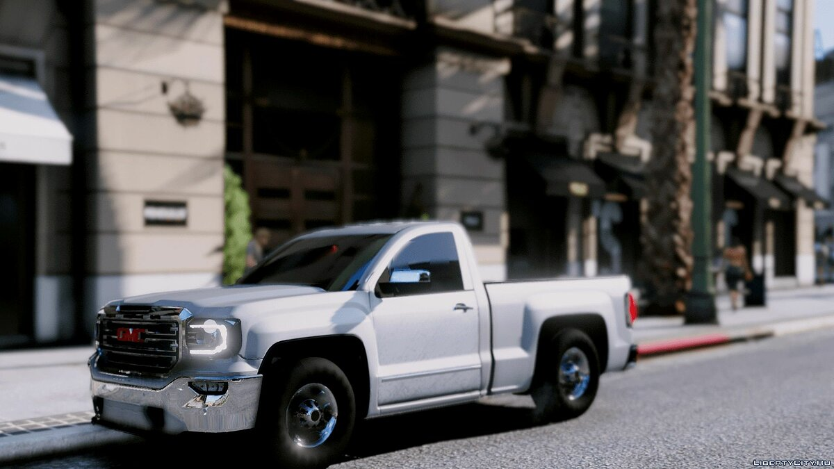 Машина GMC GMC sierra 2017 BETA для GTA 5