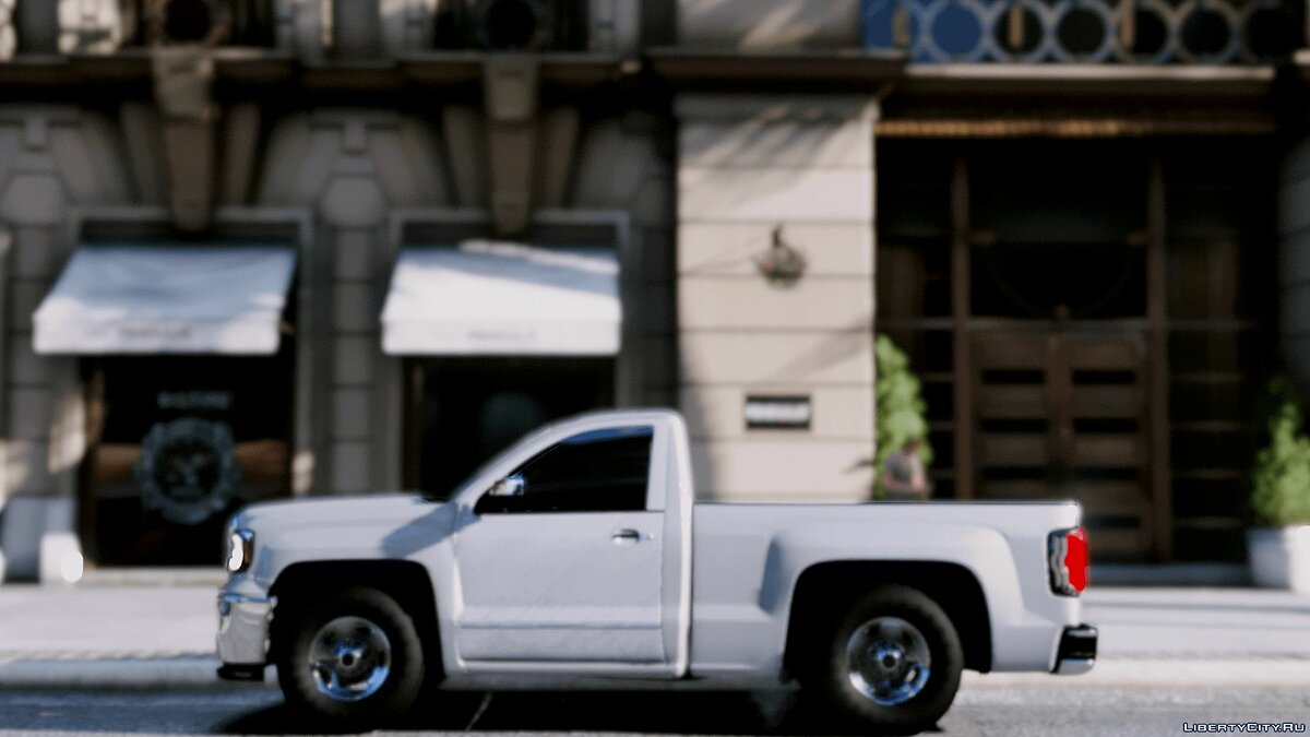 ��ашина GMC GMC sierra 2017 BETA для GTA 5