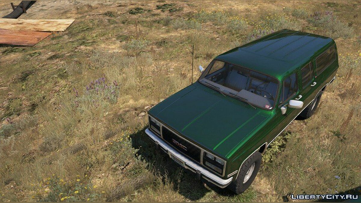 Машина GMC 1989 GMC Suburban [Add-On Version] 1.0 для GTA 5