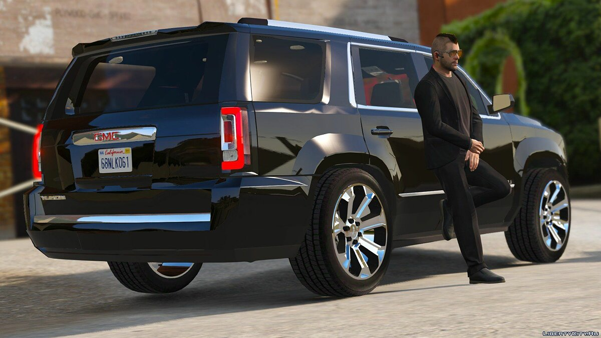 Машина GMC 2015 GMC Yukon Denali [Add-On / Replace] 1.2 для GTA 5