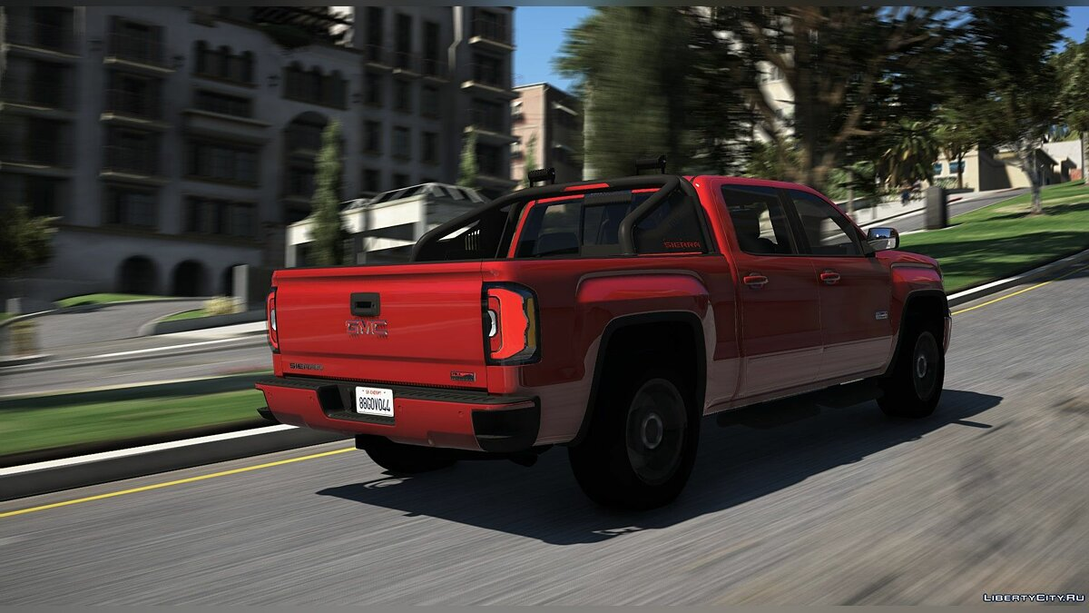 Машина GMC GMC Sierra 1500 Crew Cab All Terrain X 2017 [Add-On] 1.0 для GTA 5