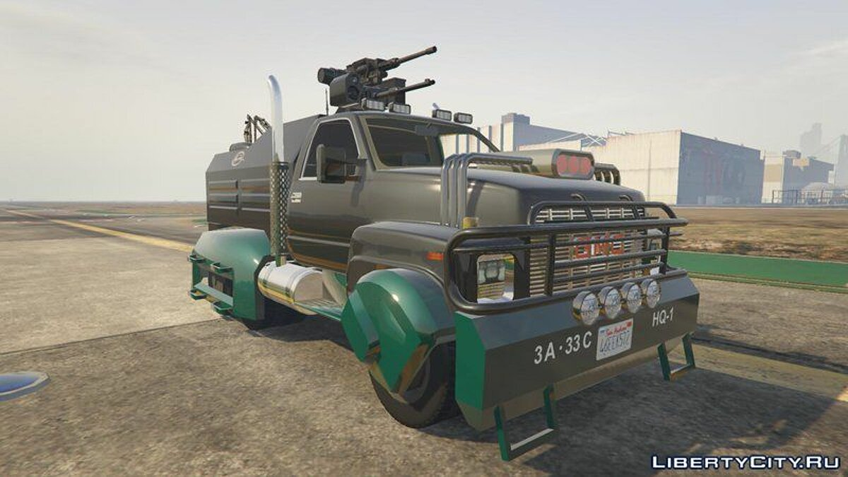 Машина GMC GMC Truck [Add-On] для GTA 5