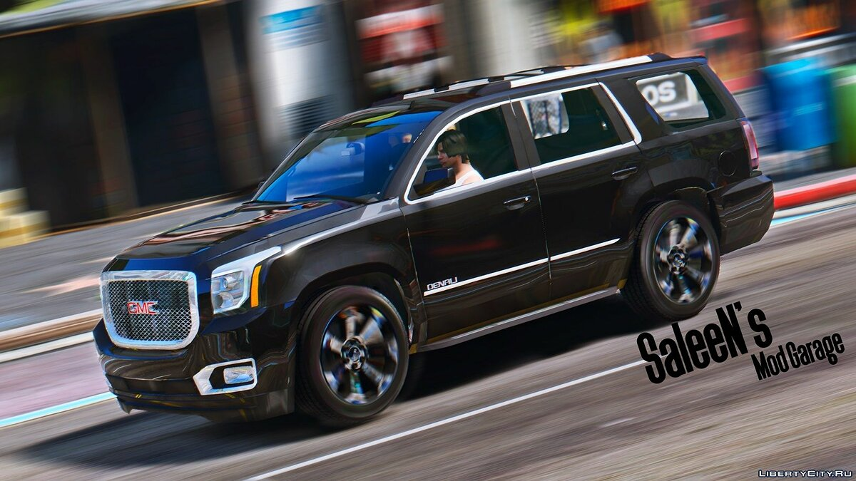 2015 GMC Yukon Denali [Add-on / Replace] 1.1 для GTA 5