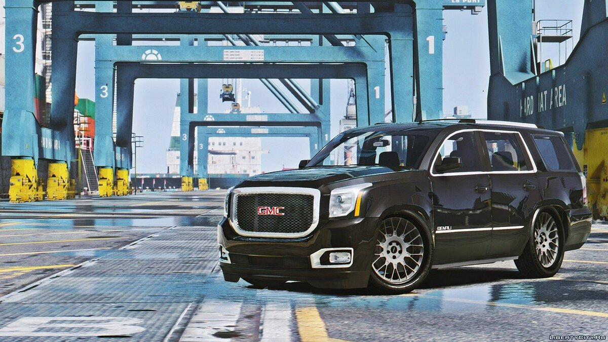 2015 GMC Yukon Denali [Add-on / Replace] 1.1 для GTA 5 - скриншот #2