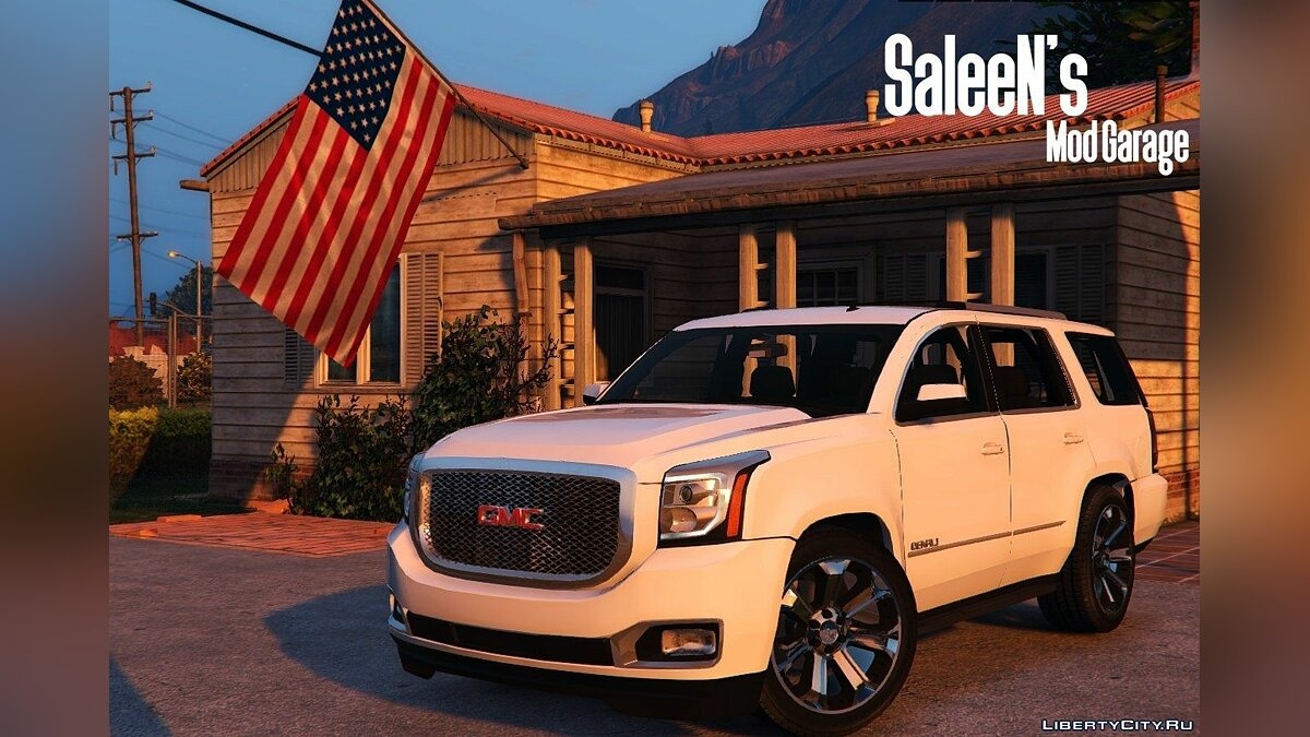 2015 GMC Yukon Denali [Add-on / Replace] 1.1 для GTA 5 - скриншот #4