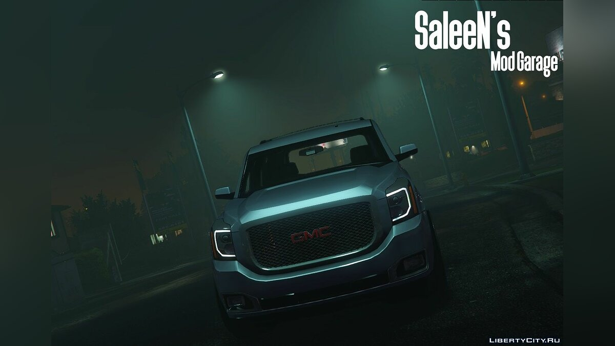 2015 GMC Yukon Denali [Add-on / Replace] 1.1 для GTA 5 - скриншот #5