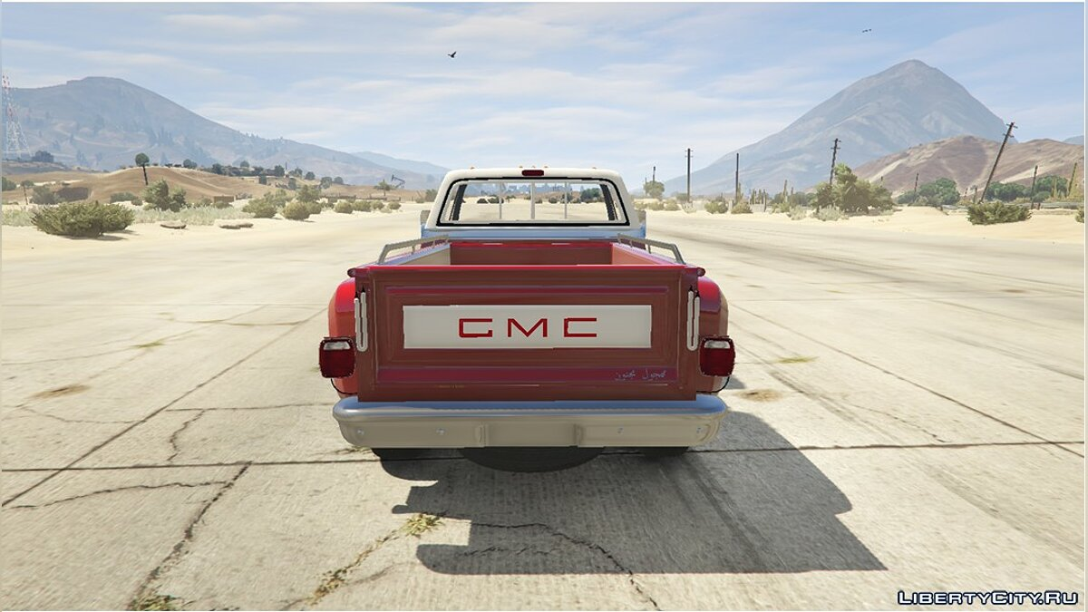 Машина GMC GMC Sierra Grande 1974 (454) [Replace] (3.5) 1.0 для GTA 5