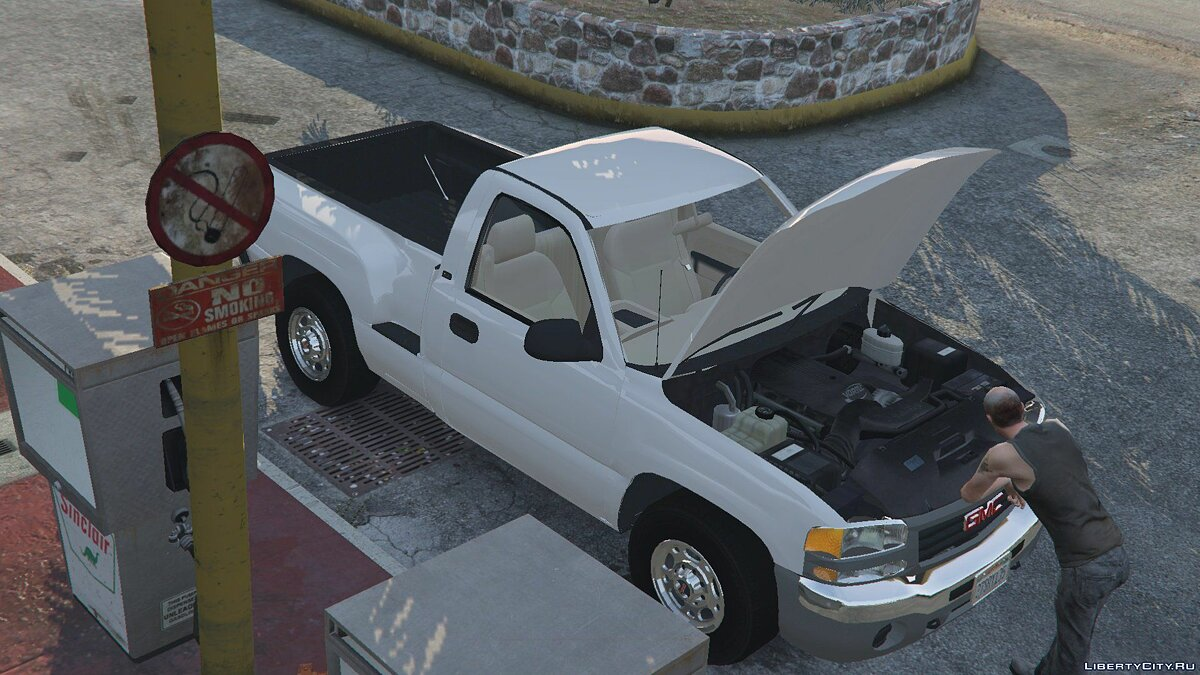 Машина GMC GMC Sierra work 2006 для GTA 5