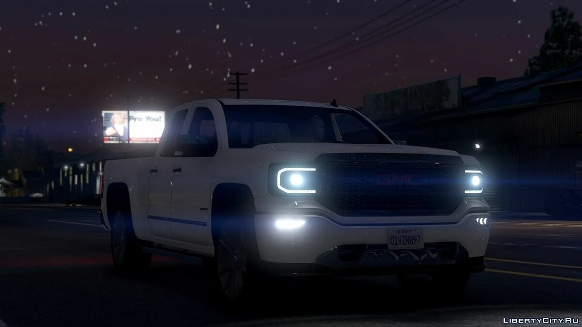 Машина GMC 2018 GMC Sierra Denali 1500 [Add-On] 1.0 для GTA 5