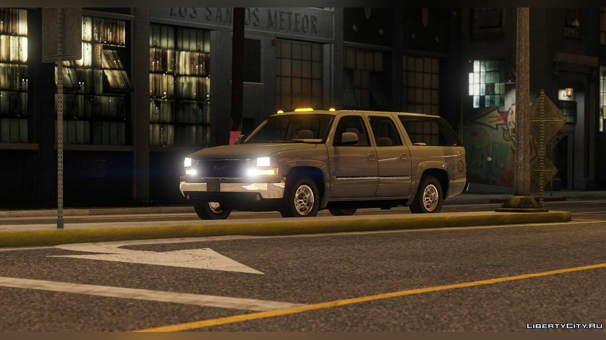 Машина GMC GMC Yukon XL 2003 [Add-On | Replace | Livery | Extras] 1.1 для GTA 5