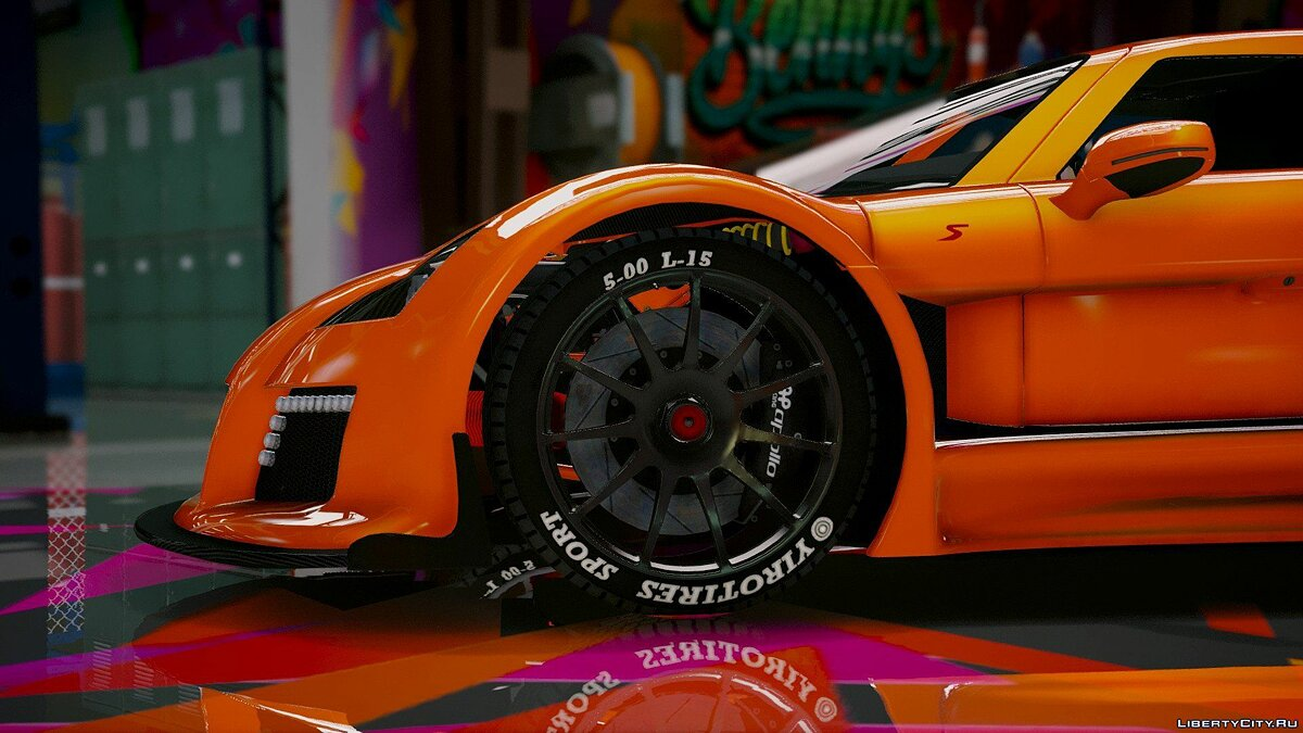 Машина Gumpert Gumpert Apollo S [Add-On] 1.5 для GTA 5
